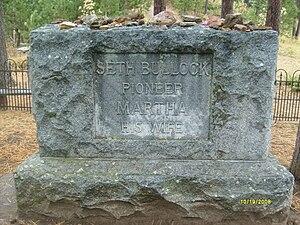 Seth Bullock - Seth Bullock's grave at Mount Moriah Cemetery, Deadwood, South Dakota.