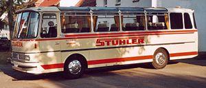 Setra - Image: Setra S110H coach 1972