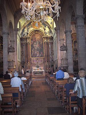 Igreja de São Julião (Setúbal) - Nave and choir