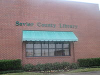 Sevier County, AR, Library IMG 8559