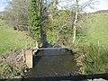 Sewage pipe crossing Afon Goch at City Dulas - geograph.org.uk - 749439.jpg