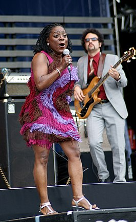 Sharon Jones & The Dap-Kings op Pori Jazz (2010)