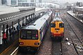 Sheffield - Northern 144006+142071 and DRS 20303-20305.JPG