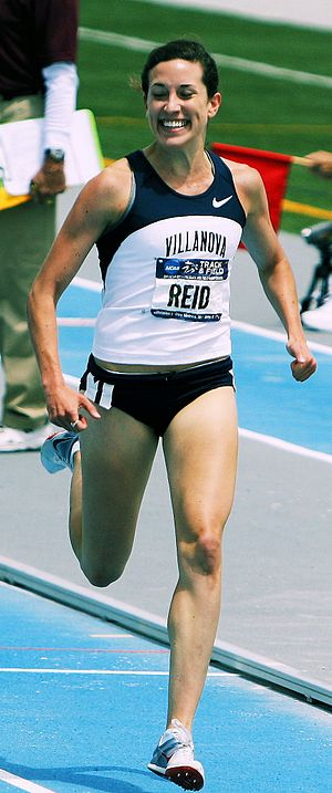 Sheila Reid (athlete) - Sheila Reid winning  the 1500 m at the 2011 NCAA Women's Outdoor Track and Field Championship