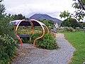 Shelter in Broadford Community Garden - geograph.org.uk - 934354.jpg