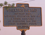 USA - Long Island, Shelter Island, Widok na termin