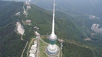 Wutong Mountain - Image: Shenzhen TV Tower
