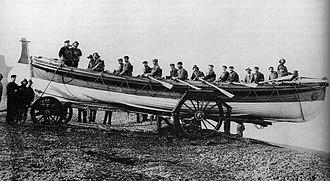 RNLB J C Madge (ON 536) - Image: Sheringham Lifeboat J C Madge ON 536