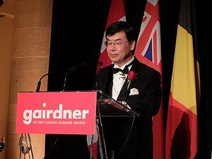 Shimon Sakaguchi - at the Royal Ontario Museum on October 29, 2015