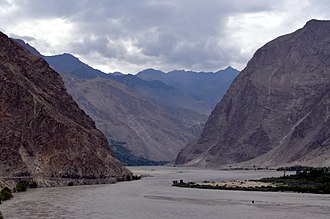 Shyok River - Kharfaq and Yugu