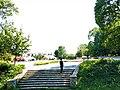 Shkallët në Parkun e qytetit.jpg