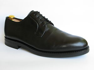 Blucher shoe - Black blucher