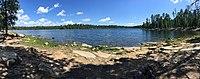 Shore View of Willow Springs Lake (36761383542).jpg