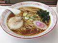 Shoyu ramen, at Kasukabe Station (2014.05.05) 2.jpg