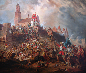 Deluge (history) - Nineteenth-century reimagining of the 1655 Siege of Jasna Góra.