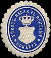 Siegelmarke Fürstl. Reuss. Pl. Rentamt Schleiz W0313823.jpg