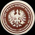 Siegelmarke Hofmarschall - Amt Seiner Königlichen Hoheit des Prinzen Heinrich von Preussen W0205430.jpg