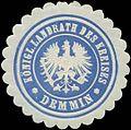 Siegelmarke Königl. Landrath des Kreises Demmin W0331694.jpg