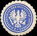 Siegelmarke Königlich Preussische Sekretariat der Universität Göttingen W0216433.jpg