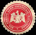 Siegelmarke K. Pr. Lehr - Infanterie - Bataillon W0216880.jpg