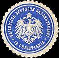 Siegelmarke Kaiserlich Deutsche Gesandtschaft in Christiania W0223575.jpg