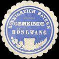 Siegelmarke Koenigreich Bayern - Gemeinde Höslwang W0219533.jpg