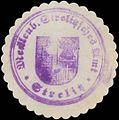Siegelmarke Mecklenb. Strelitzsches Amt Strelitz W0350179.jpg
