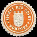 Siegelmarke Siegel der Stadt - Nortorf W0232728.jpg