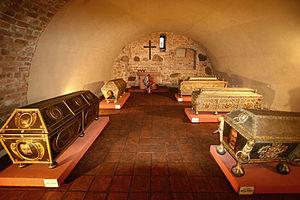 Sieraków - Image: Sierakow sarkofagi 1