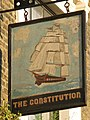 Sign for The Constitution - geograph.org.uk - 890652.jpg