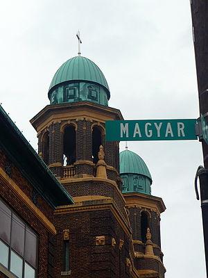 Hungarian Americans - St. Stephen Hungarian Church in Birmingham, Toledo, Ohio