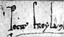 Signature of Pedro Froilaz de Trava.png