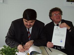 Saiga Antelope Memorandum of Understanding - Signing of the Saiga Antelope MoU by Uzbekistan, 23 May 2006