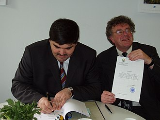 Saiga Antelope Memorandum of Understanding - Signing of the Saiga Antelope MoU by Uzbekistan, 23 May 2006
