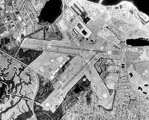 Sikorsky Memorial Airport - USGS 1991 orthophoto