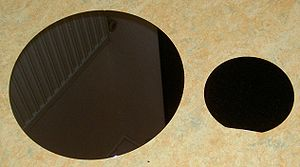 "Wafer (electronics) - polished 12"" and 6"" silicon wafers"