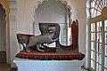 Silver Hathi Howdah, Mehrangarh Fort Museum 02.jpg