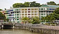 Singapore River bank and coloured shutters-1 (11860825624).jpg