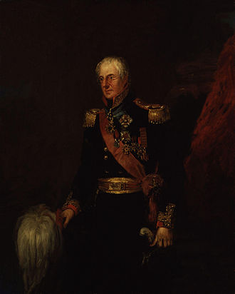 Alexander Dickson (British Army officer) - Image: Sir Alexander Dickson by William Salter