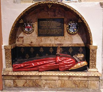 Anthony Benn (Recorder of London) - Sir Anthony Benn memorial in All Saints Church, Kingston upon Thames