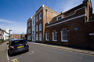 Peter Thompson (antiquarian) - Sir Peter Thompson House, Poole