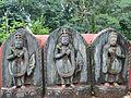 Sita, Ram and Lakxman Statues at Gokarneshwor Mahadev Temple Premises, Gokarna.jpg