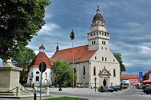 Skalica - Image: Skalica main square 01