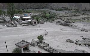 2010 Ladakh floods - Image: Skyu 2010