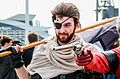 Snake MGS5 Cosplay - MCM Comic Con 2016 (27122904900).jpg