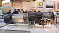 Snecma M88-4E afterburning turbofan engine for Dassault Rafale PAS 2013 01.jpg