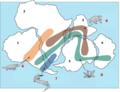 Snider-Pellegrini Wegener fossil map-i18n.png