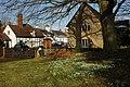 Snowdrops in Elmley Castle churchyard - geograph.org.uk - 1158484.jpg