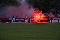 Soccer fans of FC Dorog activity.jpg
