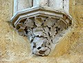Soissons (02), abbaye Saint-Jean-des-Vignes, réfectoire, cul-de-lampe du 1er doubleau, côté est.jpg